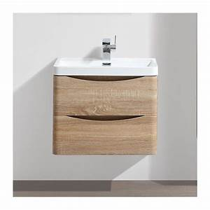 meuble salle de bain 60 cm chene 2 tiroirs plan With meuble salle de bain beige
