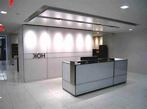 Minimalist Office Reception Area Design Ideas Office Lobby ...