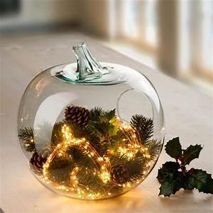 Glas Mit Lichterkette : casablanca deko glas apfel windlicht 36 cm h 31 cm durchmesser ~ Yasmunasinghe.com Haus und Dekorationen