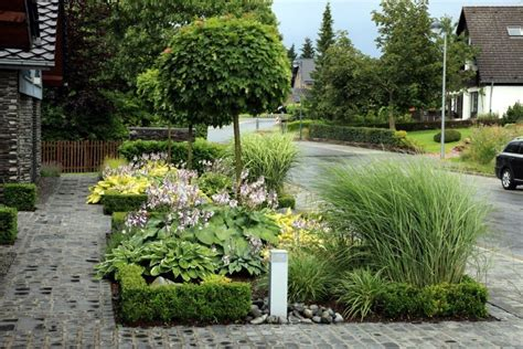 Gartenkies Modern Gestaltenvorgarten Gestalten Kies