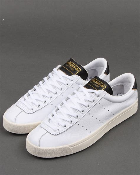 Adidas Lacombe Trainers White/Black - Adidas At 80s Casual ...