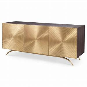 Mr Brown Claudio Modern Regency Gold Sideboard Cabinet