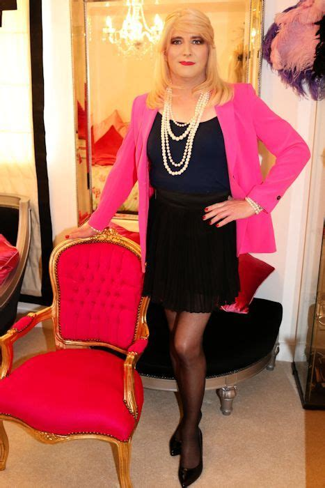 Cross Dressers In by Crossdresser Makeover The O Jays Pink And Galleries