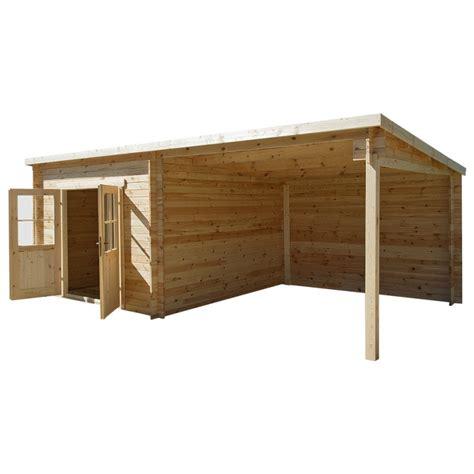 abri toit plat 9m 178 plus 28mm terrasse couverte 9m 178 gardy