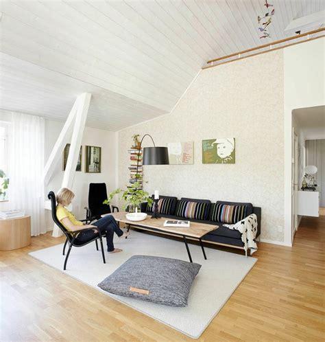 petit dressing chambre idée déco salon le salon en style scandinave ideeco