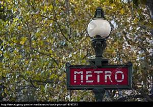 Metro Rechnung : metro schild mit laterne paris lizenzfreies bild 14747215 bildagentur panthermedia ~ Themetempest.com Abrechnung