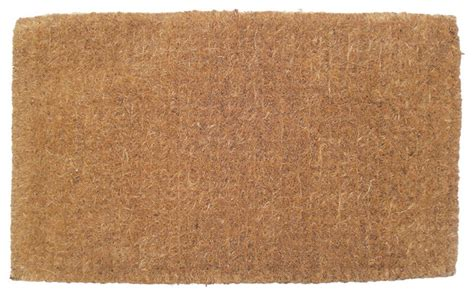 What Size Rug For Room by Blank Extra Thick Hand Woven Coconut Fiber Doormat
