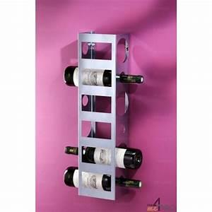Range Bouteille Mural : range bouteilles mural en tole 6 bouteilles 4mepro ~ Teatrodelosmanantiales.com Idées de Décoration
