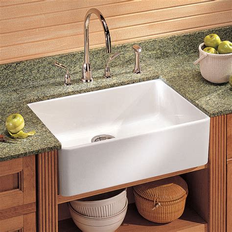 drop in apron front kitchen sink franke fireclay apron front undermount or drop on sinks 9619