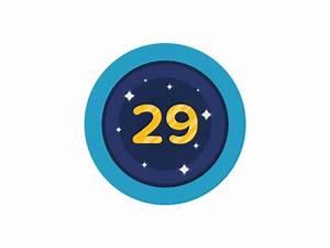 Birthday number 29 by Zebastian Zattberg - Dribbble