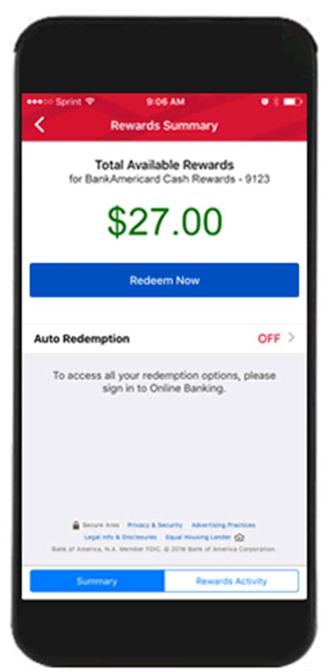 mobile   banking features  bank  america