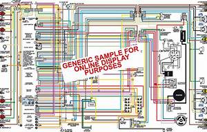 1964 1965 1966 1967 Dodge A100  U0026 A108 Color Wiring Diagram