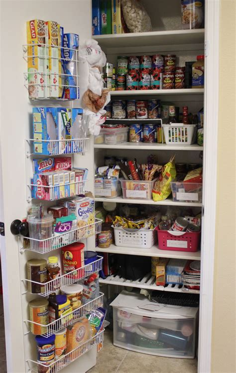 kitchen shelf organizer ideas pantry organization pantry challenge finale
