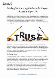 Building Trust among the Team for Project Success is ...