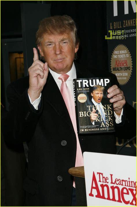 trump ass kick donald think