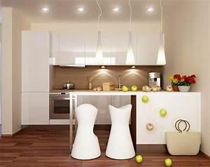 Welche Weiße Farbe Deckt Am Besten : 1001 wohnideen k che f r kleine r ume wie gestaltet man kleine k chen ~ Markanthonyermac.com Haus und Dekorationen