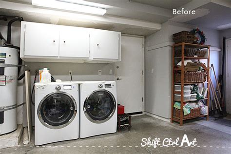 laundry nook  garage     demo