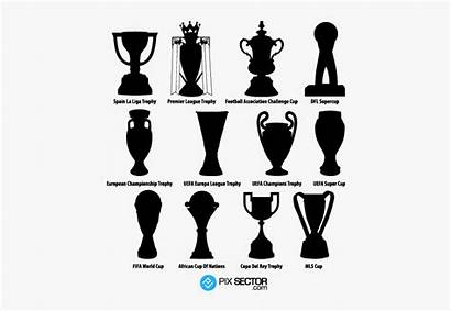 League Trophy Vector Europa Trophies Football Clipartkey