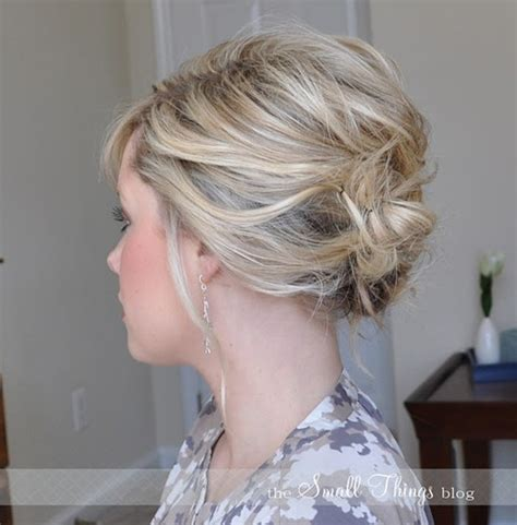 updo hairstyles  short hair easy updos  women