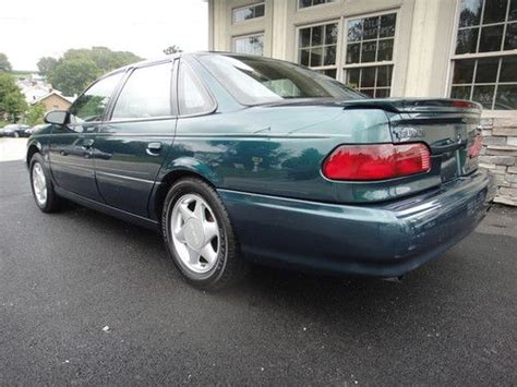 purchase   ford taurus sho  speed  owners