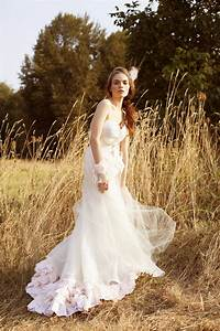 bohemian tulle light pink wedding dress onewedcom With light wedding dress