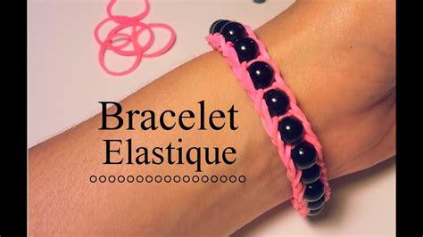 comment faire un bracelet 233 lastique avec des perles