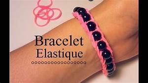 Bracelet Avec Elastique : comment faire un bracelet lastique avec des perles youtube ~ Melissatoandfro.com Idées de Décoration