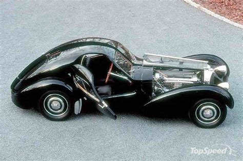 The bugatti type 57 and later variants (including the famous atlantic and atalante) was an entirely new design created by jean bugatti, son of founder ettore. Bugatti 57sc Atlanti