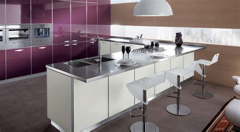 crystal cocinas modernas de la firma scavolini