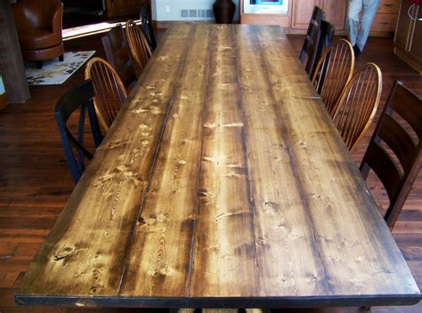 ft rustic dining trestle table  bench  rockyblue