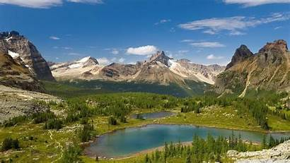 Mountain Lakes Lake Background Desktop Wallpapers Forest
