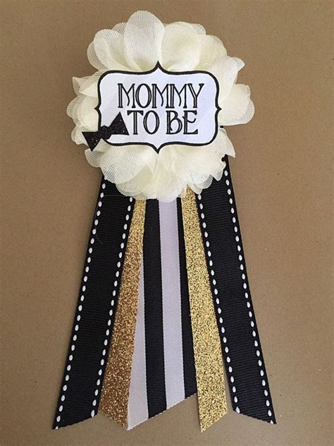 Baby Shower Mums For by Baby Shower Baby Boy Bowtie Baby Shower Pin To Be