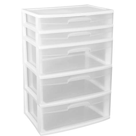 sterilite 5 drawer wide tower white awesome sterilite 5 drawer wide tower white wheels not