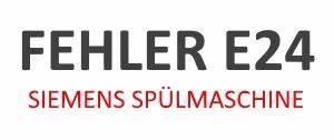 Siemens Geschirrspüler Fehler Wasserzulauf : siemens geschirrsp ler fehlercode e24 dekoration bild idee ~ Frokenaadalensverden.com Haus und Dekorationen