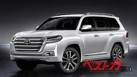 2020 Toyota Land Cruiser 200 by Toyota Land Cruiser и Lexus Lx 2020 года новые подробности