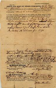 black history month document of a bill of sale for slave With american historical documents for sale