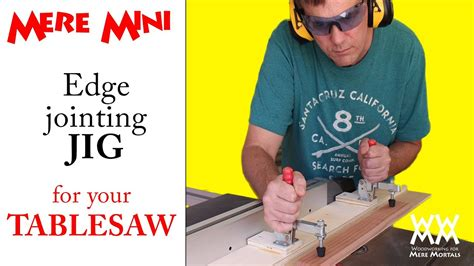 jig  edge jointing   table  mere mini shop