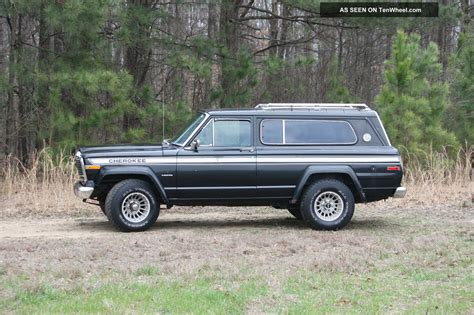 jeep chief 1979 1979 jeep cherokee chief quadratrac