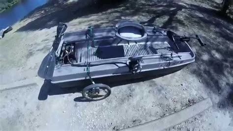 Mini Bass Boats by My Mini Bass Boat Modifications One Of A