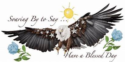 Glitter Morning Graphics Eagle Blessed Native American