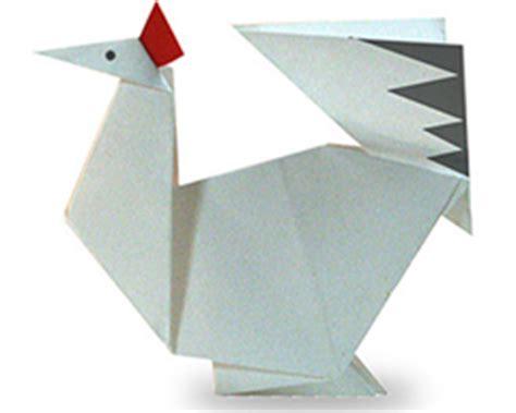 membuat bebek  ayam  kertas origami asyiknya