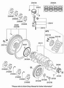 Hyundai Sonata Crankshaft  Sprocket  Gear  Timing  Engine