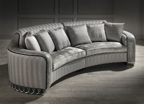 Curved Loveseat by The Corner Sofa Curved Sofa