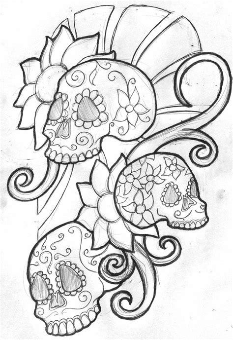 44 best Art & Doodles - Sugar Skulls images on Pinterest | Mexican skulls, Day of dead and Skull