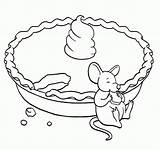 Pie Coloring Pages Pumpkin Printable Nancy Apple Fancy Thanksgiving Eating Mouse Sheets Cherry Popular Clip Getcoloringpages Coloringhome Adults Getcolorings Night sketch template