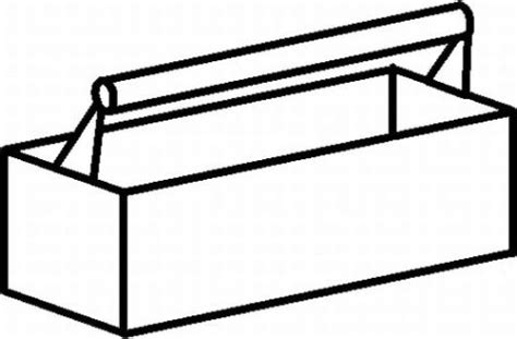 toolbox coloring page free coloring pages of toolbox saw