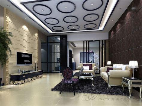 Interior Design For Living Room Roof by ديكورات جبس للاسقف مودرن 2014 ورود