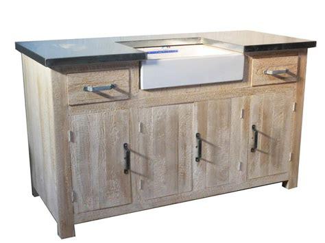 meuble evier meubles cuisine pin massif pas cher la remise