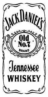 Jack Daniels Vector Table Label Drawing Getdrawings Vectors Behance sketch template