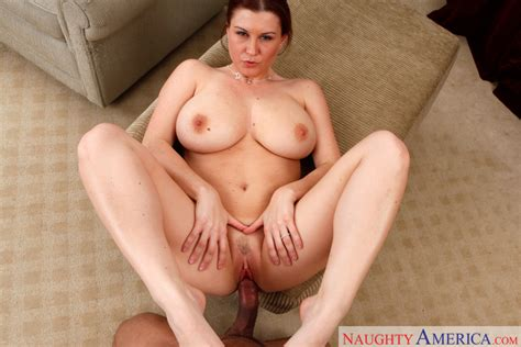 Sara Stone Fucking In The Chair With Her Natural Tits